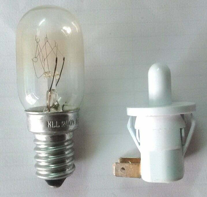 refrigerator bulb and switch