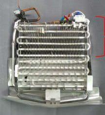 Double Door fridge evaporator coil