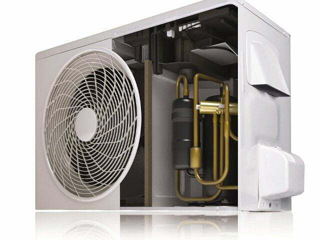 Split-AC outdoor-compressor