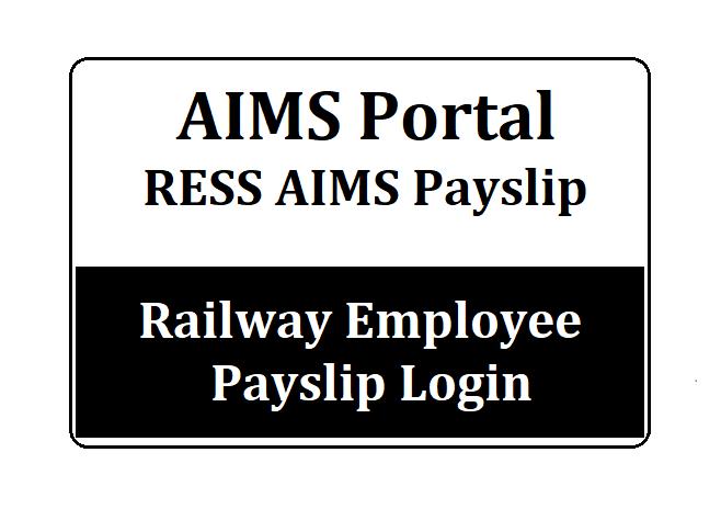 RESS Salary Slip Railway Employee