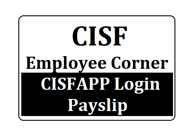 CISF Employee Corner