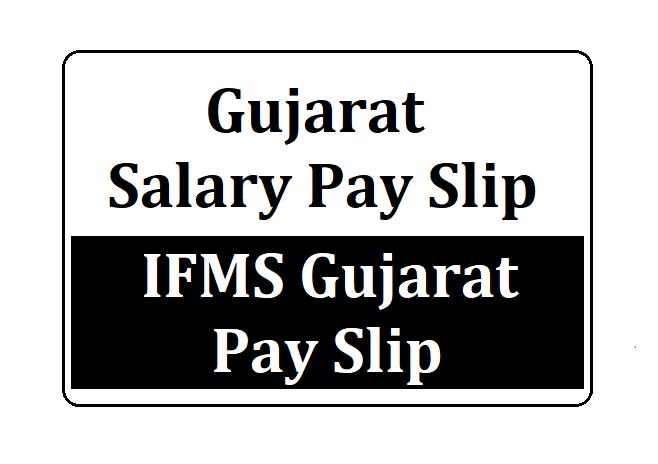 IFMS Gujarat Payslip
