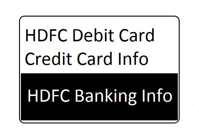 HDFC Bank Credit Card