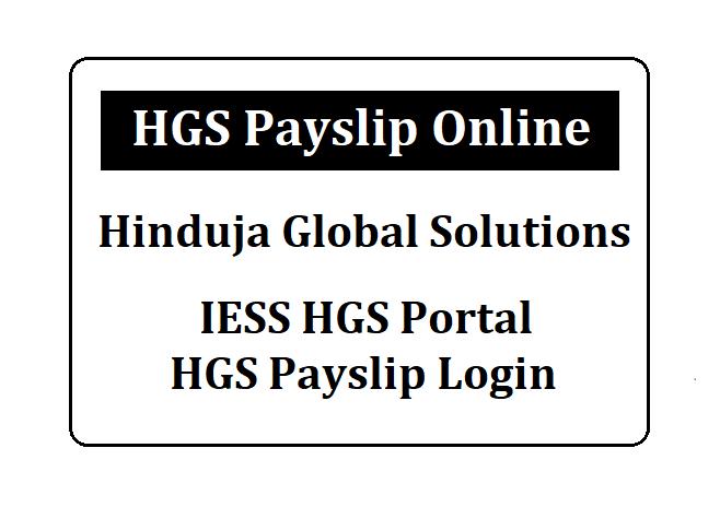 HGS Payslip Online