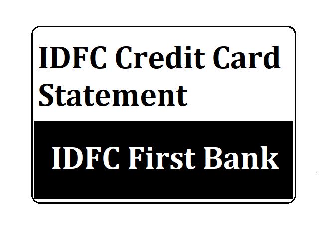 Block IDFC Credit Card