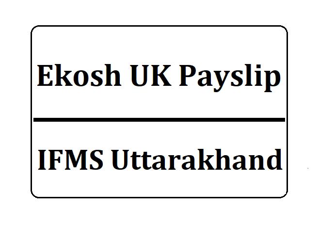 Ekosh UK Payslip