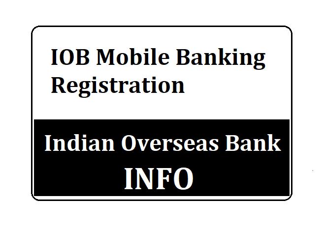 IOB Customer ID Online