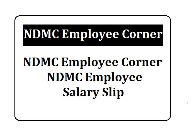 NDMC Employee Corner