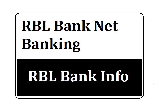RBL Bank Net Banking