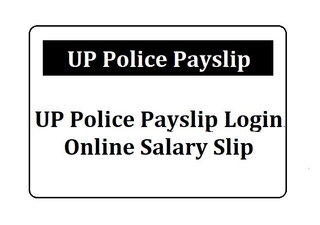 UP Police Payslip