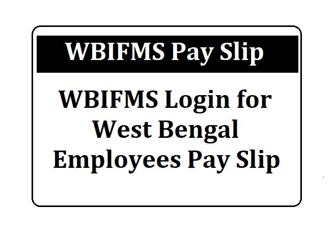 IFMS WB Payslip