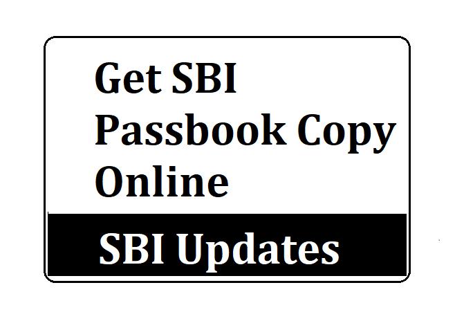 SBI Passbook