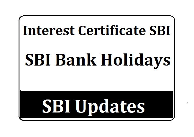 SBI Bank Holidays